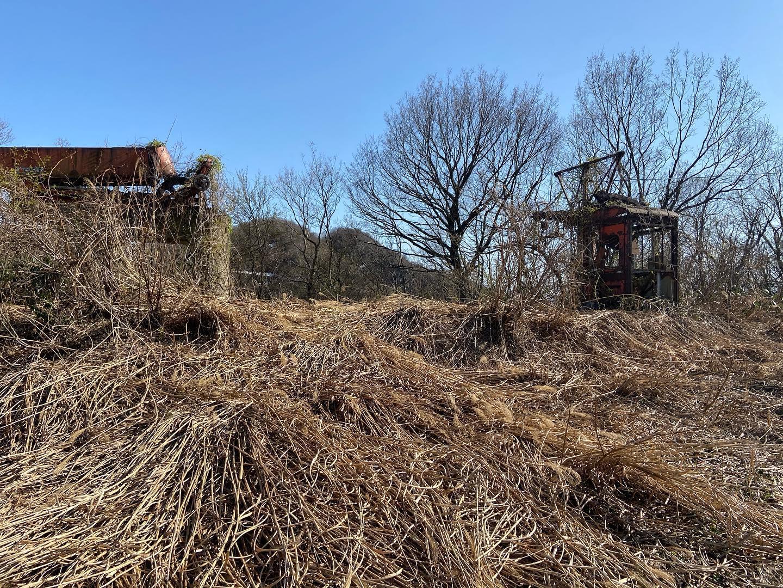 毎年度施行地面積を増やして行っている企業の森づくり。今年度はこの場所を整地し植樹します!#伐採#特殊伐採#林業#石川里山づくりiso #獅子吼憩いの森#石川県#白山市#鶴来#なかの林業